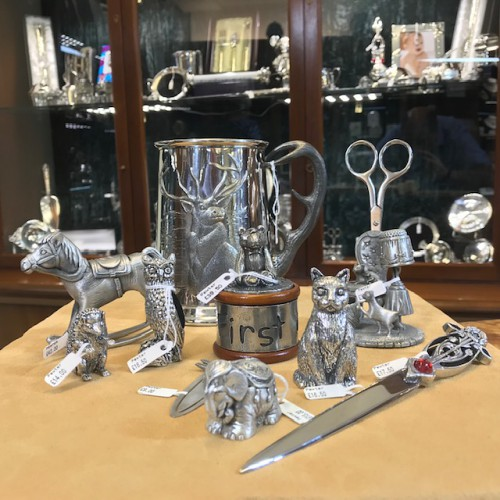 Pewter at Clement White Jewellers