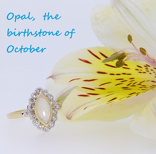 Opal Birthstone of October Clement White Jewellers